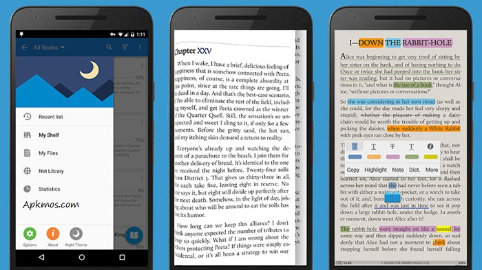 reading apps for android