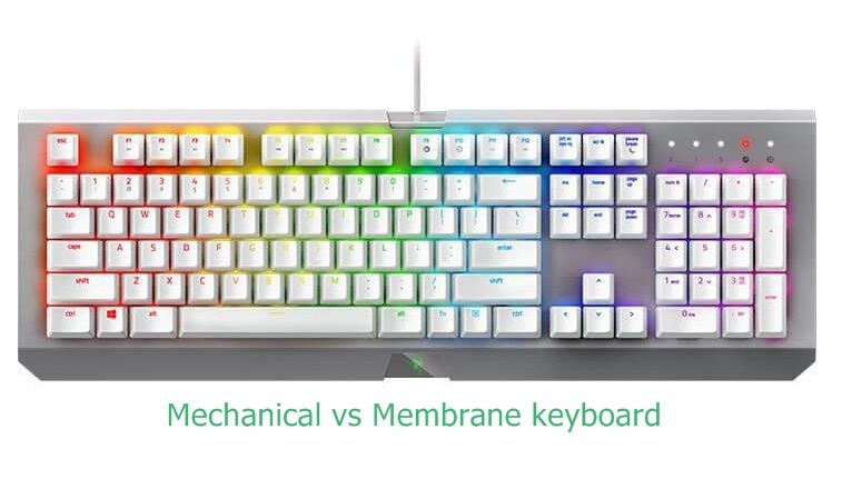 Mechanical vs Membrane keyboard