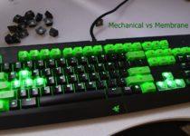 Mechanical vs Membrane keyboard